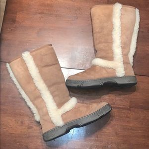 UGG Sunburst Tall Sheepskin Boots